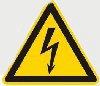Warnung Strom